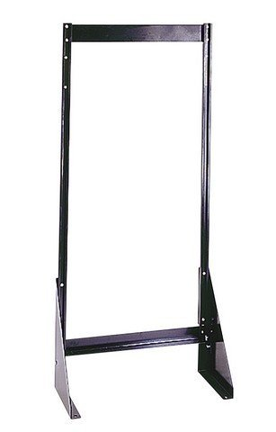 Quantum Storage QFS148 Single Sided Floor Stand44; 8 x 23.62 x 52 in.