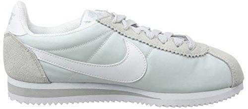 blanco Wmns Blanco Da Classic Nylon Nike Corsa Platinum Scarpe Cortez white Donna pure gwz8SdxU