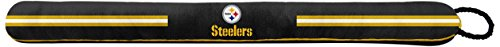 Pegasus Sports NFL Pittsburgh Steelers Door Draft Stopper, Black ()