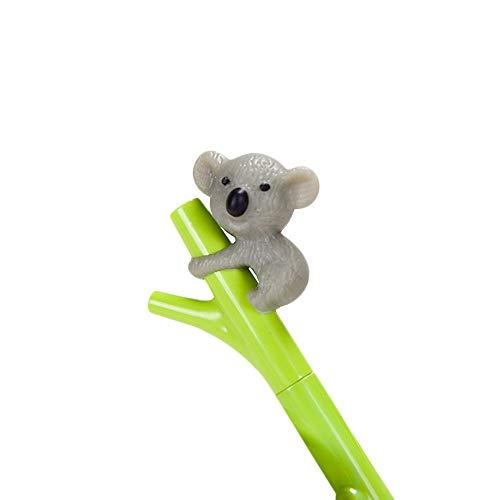 DEESEE(TM) 0.5mm Creative Cute Koala Branches Black Ink Gel Pen Signing Pen Writing Tool (C) ()