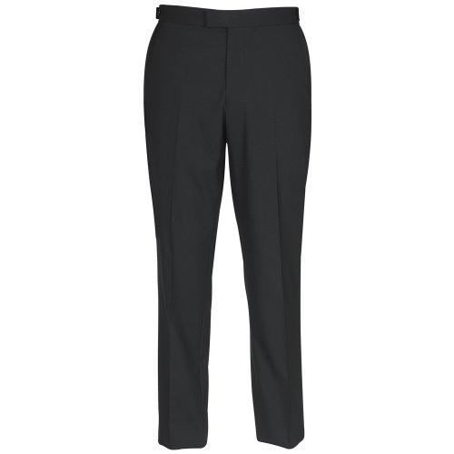 Brook Taverner - Pantalon de costume -  Homme -  Noir - Noir - Taille XXXL