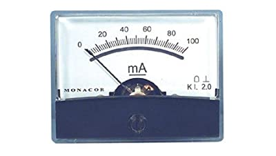 Tenma PM-2/100MA 100 mA Comact Panel Mount Ammeter by Tenma