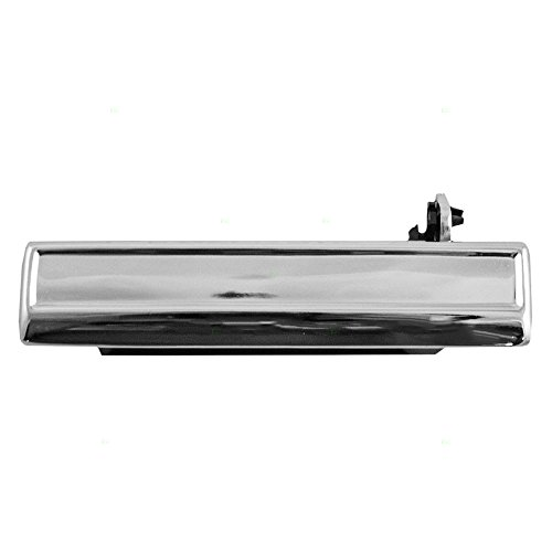 Drivers Front Outside Outer Chrome Door Handle Replacement for Buick Cadillac Chevrolet (Cavalier Outside Door Handle)