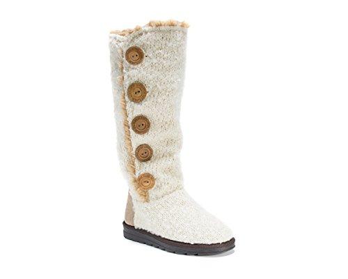 MUK LUKS Womens Jazlyn Boots Vanilla ZKyhoBgUk
