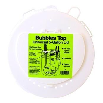 - Marine Metal L-5 Bubbles Top 5 Gallon, Universal Lid W/Tabs
