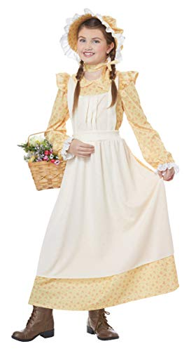 Peasant Villager Costumes - Prairie Girl Girls Costume