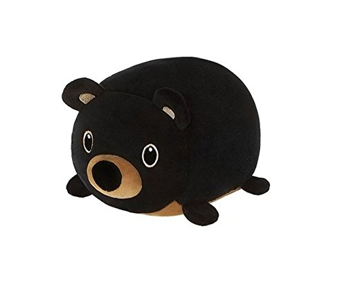 "Fiesta Toys Lil Huggy Bodhi Black Bear Stuffed Toy 8"" Animal Plush"