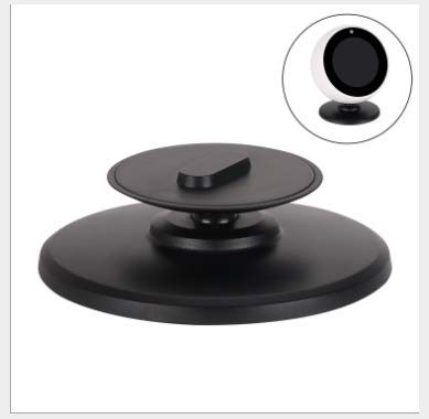 Echo spot Stand Bracket Mount with Magnetic Base for  Echo Spot Adjust Echos Face Up and Down Multi Viewing Angle Adjustment 360/° Rotation White