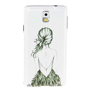 Kinston Art Figure Pattern Plastic Hard Case for Samsung Note3