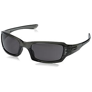 Oakley Men's Fives Squared OO9238-05 Rectangular Sunglasses, Grey Smoke, 54 mm