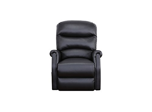 Madison Home Classic Plush Bonded Leather Power Lift