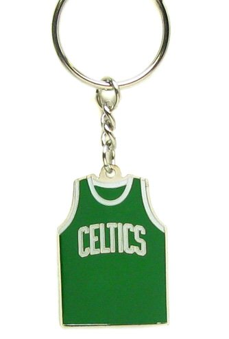 Boston Keychain Celtics - Boston Celtics - NBA Home Away Team Jersey Key Chain