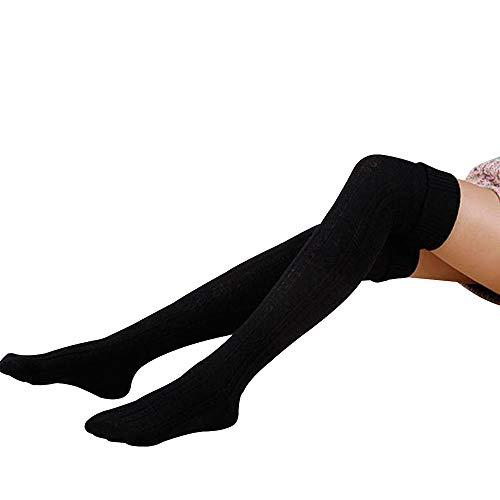 Hippih Womens Winter Over Knee Leg Warmer Crochet Thigh High Boot Socks Girls Leggings for $<!--$7.99-->