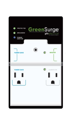 360 Electrical 36070 4-Outlet GreenSurge Protector