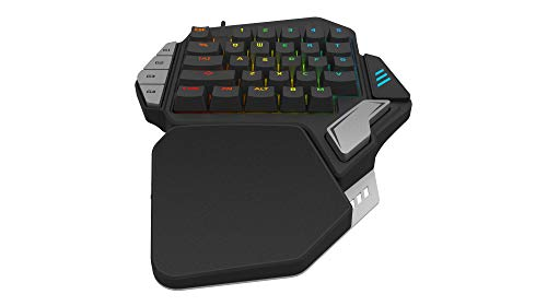 8e068ee5bad ... Skywin Programmable Gaming Keypad - Ergonomic One Handed RGB Backlit  Mechanical E-Sports Keyboard -