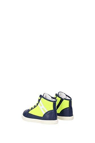 Hogan Sneakers rebel Niño - Tejido (HXT1410I390D5G) EU Amarillo