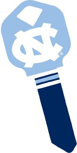 Logo House Key - NCAA UNC North Carolina Tar Heels Logo Key--Kwikset KW1 #66 Uncut Blank House Key