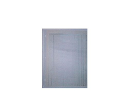 Boorum Pease S112-108 No Tear Reinforced Ring Book Sheets 8 1/2'' x 11'' Journal 2 column, 25 per pack by Boorum & Pease