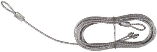 National Hardware V7618 8'8 x 3/32 Torsion Spring Lift Cables in Galvanized by National by National