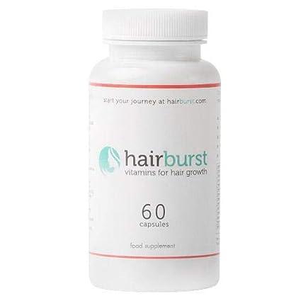 HAIRBURST ™ Vitaminas para el crecimiento del cabello - Un suministro de un mes - 60