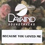 Because You Loved Me [Accompaniment/Performance Track]