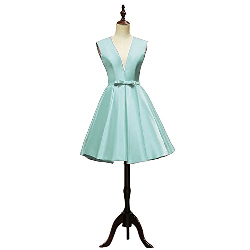 Vimans -  Vestito  - linea ad a - Donna verde Mint 48