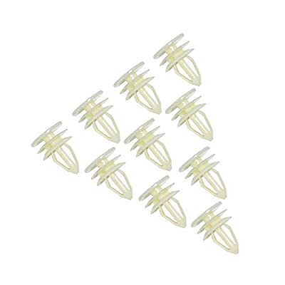 AOIT 10 Pcs Super Strong Door Trim Panel Clips pins retainers Fasteners for GMC Envoy Chevy Chevrolet Trailblazer Suburban Silverado, Replacement for The Part# 10357004, 10360625, 15095067, 15155113: Automotive