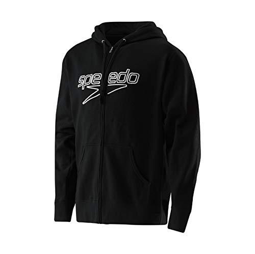 Speedo Logo Hoodie Male Speedo Black Large
