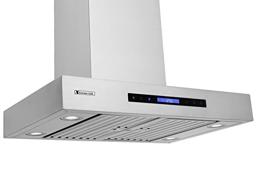 XtremeAir Pro-X Series PX06-W42, 42'' Wide, Easy Clean swing-able baffle Filters, Stainless Steel, Wall Mount Range Hood by XtremeAIR (Image #3)
