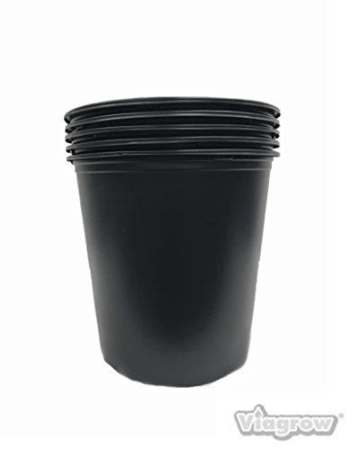 (5 Gal Nursery Trade Pots (4.02 gal / 15.19 Liters) 20 Pack)