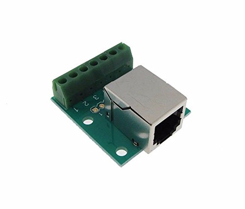 RJ11 6P6C Connector Breakout Board Module RA Screw terminals - Rj11 Module