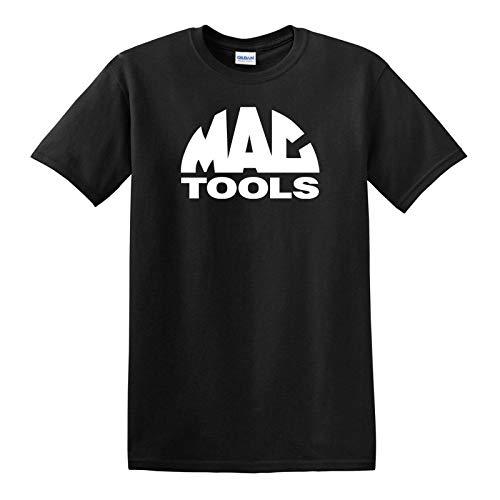 Mac Tools T-shirt - Mechanics Automotive Parts Racing Garage Free Shipping Unisex Short Sleeve Graphic Fashion T-Shirt (Clothing Mac Tools)