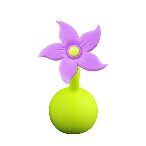 haakaa Silicone Breast Pump Stopper 1 pk (Purple)