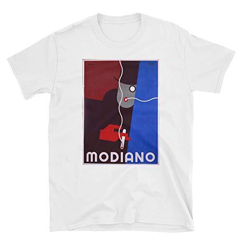 (Modiano Italian Vintage Cigarette Ads Unisex Shirt White )