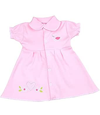 Amazon BabyPrem Premature Baby Dress Cotton Pink Girl