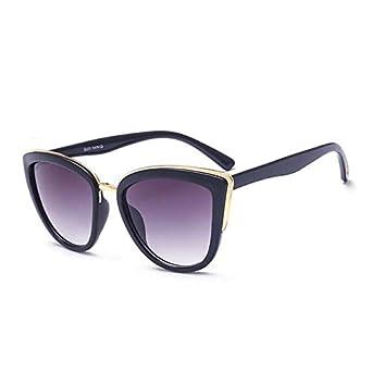 DongOJO Gafas de sol de ojo vintage para mujer Gafas de sol ...