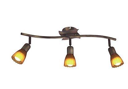 3 light antique brass finish track lighting spotlights for living 3 light antique brass finish track lighting spotlights for living room bedroom entry hallway bathrooms aloadofball Choice Image