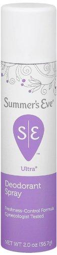 Summer's Eve Ultra Extra Strength Feminine Deodorant Spray, 2 Ounce