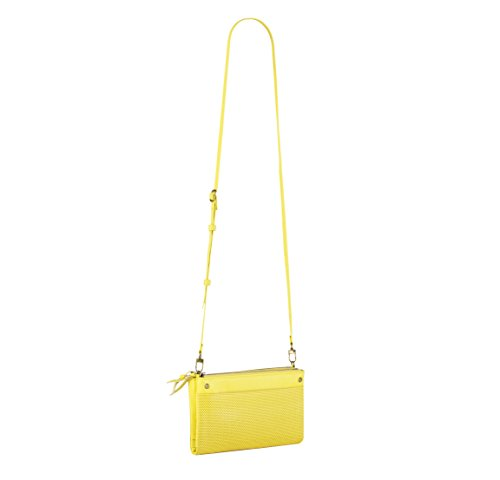 Leather Crossbody Wallet Yellow Leather Bag and Handbags LA qzTdw7q