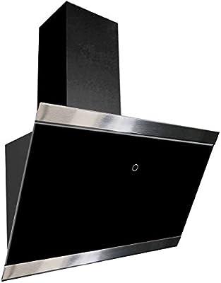 respekta CH88060SA+ - Campana inclinada (60 cm, eficiencia energética A+), color negro: Amazon.es: Grandes electrodomésticos