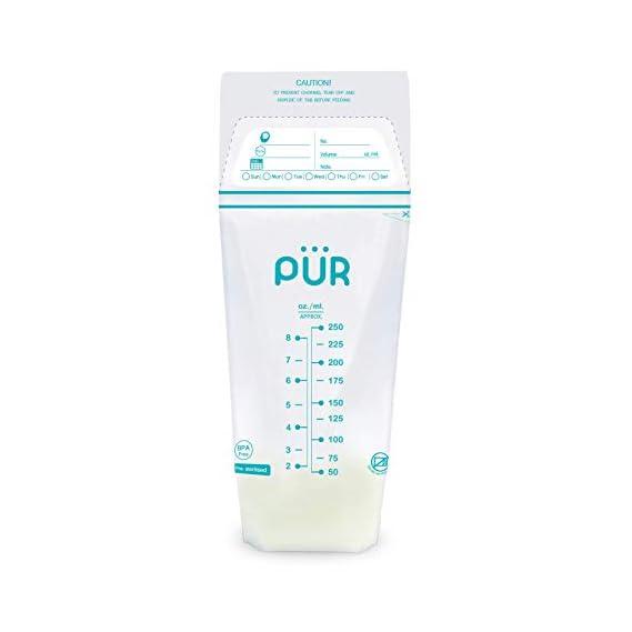 Pur Breast Milk Storage Bags - 50 Bags