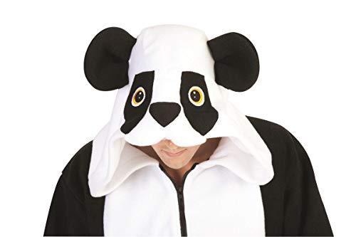 RG Costumes Men's Parker Panda Hoodie, Black/White, Small -
