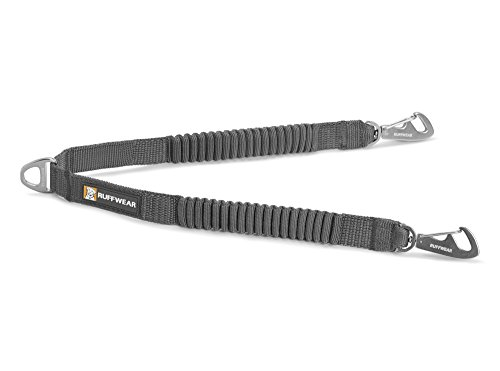 RUFFFWEAR Double Track Coupler, Two-Dog Leash Connector, Granite Gray,One Size by RUFFFWEAR
