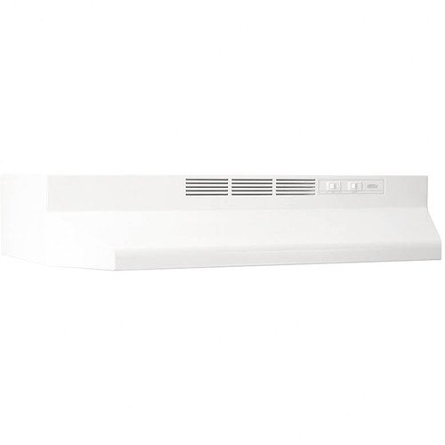 NuTone RL6200 Series 30 in. Ductless Under Cabinet Range Hood with Light in Black
