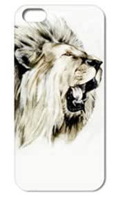 Fashion The Lion Pattern Protective Hard Case Cover For iPhone 5 5S #036