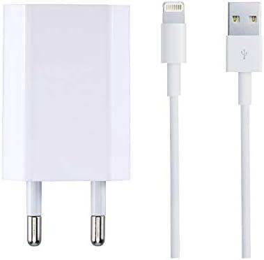 ZLONXUN Cargador 1A y Cable USB para iPhone 7 7 Plus 6 6S Plus 8 8 ...