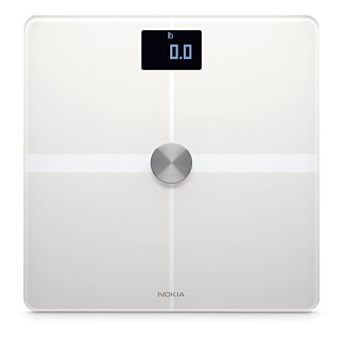 Nokia Body+ - Body Composition Wi-Fi Scale, White