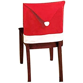 Amazon Com Blastcase 20 Quot Santa Hat Chair Covers Set Of 4