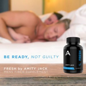 Fresh by Amity Jack | 120 ct. Bottle | A Pure Premium Dietary Fiber Supplement for Men. Enjoy a Worry Free, Healthy, Clean Sexual Experience by Amity Jack (Image #3)