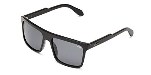 Quay Australia Let It Run Sunglasses in Black/Smoke
